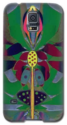 Flower Design Galaxy S5 Case