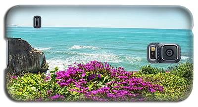 Flowers On The Cliff Galaxy S5 Case