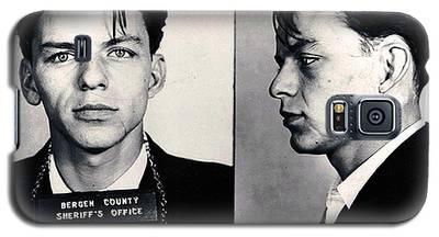 Frank Sinatra Mug Shot Horizontal Galaxy S5 Case