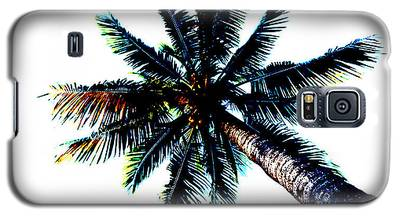Frazzled Palm Tree Galaxy S5 Case