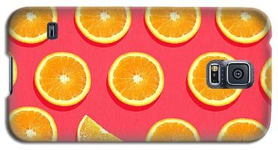 Orange Galaxy S5 Cases