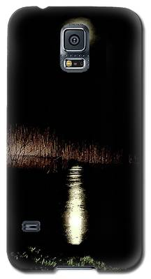 Full Moon Over Piermont Creek Galaxy S5 Case