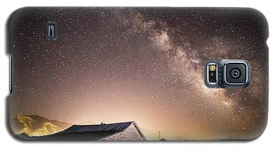 Galaxy In Star Valley Galaxy S5 Case