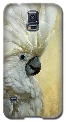 Cockatoo Galaxy S5 Cases
