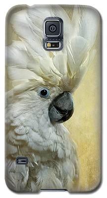Cockatoo Galaxy S5 Cases