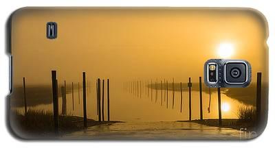 Golden Fog On The Nissequogue Galaxy S5 Case