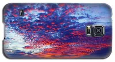 Hand Of God At Sunrise Galaxy S5 Case