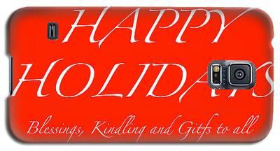 Happy Holidays - Day 1 Galaxy S5 Case