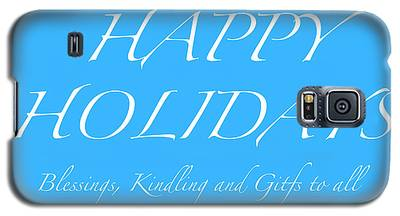 Happy Holidays - Day 5 Galaxy S5 Case