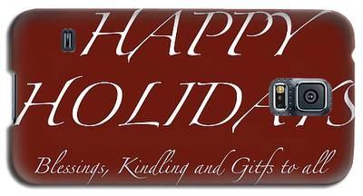 Happy Holidays - Day 6 Galaxy S5 Case