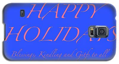 Happy Holidays - Day 7 Galaxy S5 Case