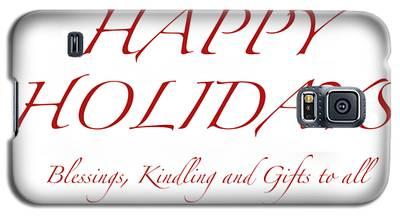 Happy Holidays - Day 8 Galaxy S5 Case