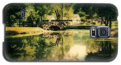 Heckscher Park Pond, Huntington Ny Galaxy S5 Case