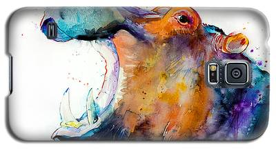 Hippopotamus Galaxy S5 Cases
