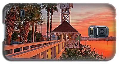 Historic Bridge Street Pier Sunrise Galaxy S5 Case