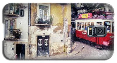 Historic Lisbon Tram Galaxy S5 Case