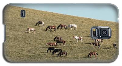 Horses On The Hill Galaxy S5 Case