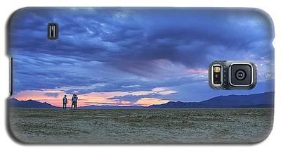 Impromptu Meeting In The Desert Galaxy S5 Case