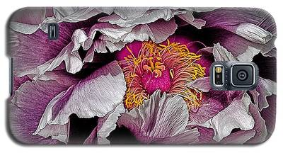 In The Eye Of The Peony Galaxy S5 Case