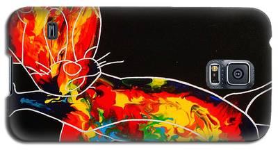 Inside Fire Galaxy S5 Case