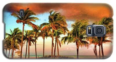 Crandon Park Beach Galaxy S5 Case