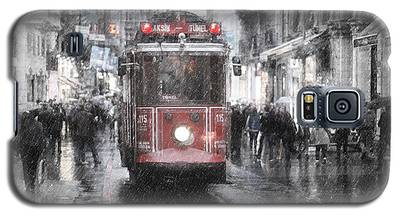 Istambool Historic Tram Galaxy S5 Case