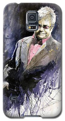Elton John Galaxy S5 Cases