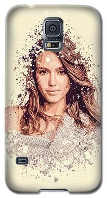 Jessica Alba Galaxy S5 Cases