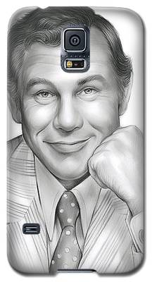 Johnny Carson Galaxy S5 Cases
