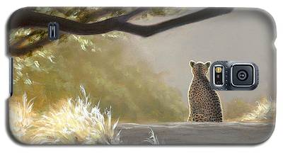 Keeping Watch - Cheetah Galaxy S5 Case