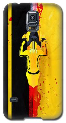 Kill Bill Minimalistic Alternative Movie Poster Galaxy S5 Case