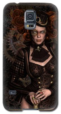 Lady Steampunk Galaxy S5 Case