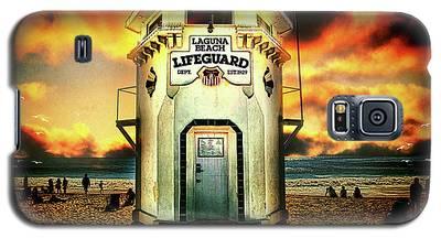 Laguna Beach Lifeguard Hq Galaxy S5 Case