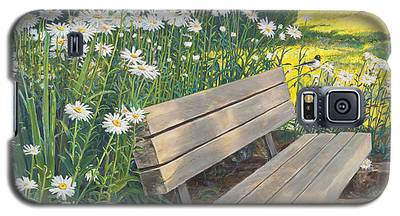 Lake Padden Series - Memorial Bench Of Judy Winter Galaxy S5 Case