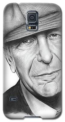 Leonard Cohen Galaxy S5 Case