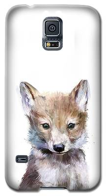 Wolf Galaxy S5 Cases