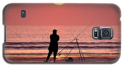 Llangennith Fishing At Sundown Galaxy S5 Case
