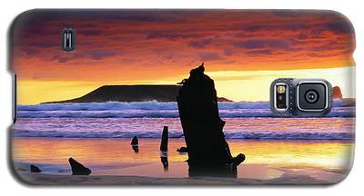 Llangennith Helvetia Wreck Galaxy S5 Case