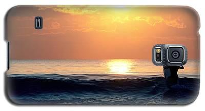 Llangennith Last Wave Galaxy S5 Case
