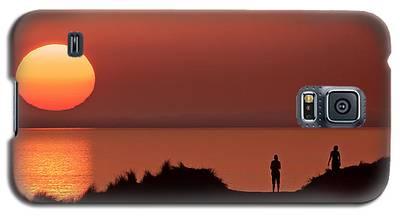 Llangennith Late Summer Days Galaxy S5 Case