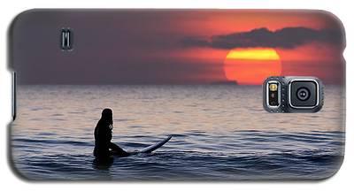 Llangennith One More Wave Galaxy S5 Case