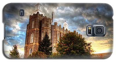 Logan Temple Cloud Backdrop Galaxy S5 Case