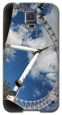 London Ferris Wheel Galaxy S5 Case