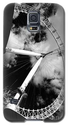 London Ferris Wheel Bw Galaxy S5 Case