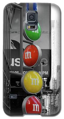 M And Ms In New York City Galaxy S5 Case