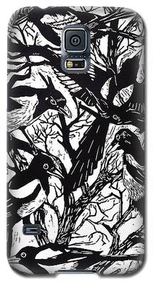 Magpies Galaxy S5 Cases