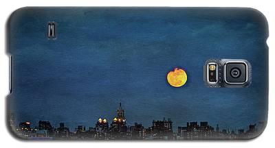 Manhattan Moonrise Galaxy S5 Case