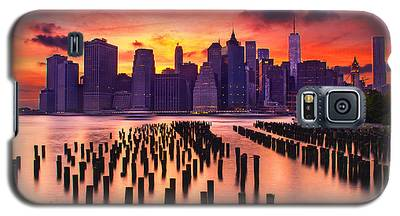 Manhattan Sunset Galaxy S5 Case