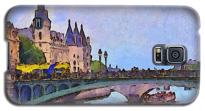 Morning Light In The City Of Light Galaxy S5 Case