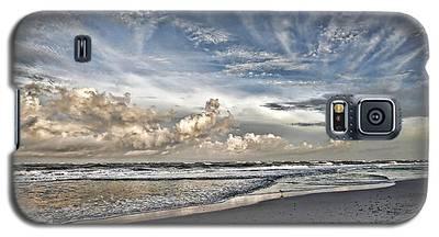 Morning Sky At The Beach Galaxy S5 Case